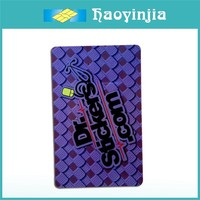 Customized 4/4 Offset Printing Discount Gift Card with Fake Chip