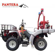 China cheap water cooled 350cc EEC ATV 8x8 amphibious atv with fire fighting equipment