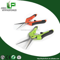 2016 newest good quality Hydroponics Stainless Steel Plant Scissor/indoor garden items scissor/grass trimming shear