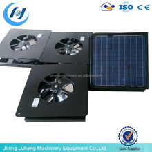 Iron Attic Energy-saving Solar ventilation fan With battery,Can recharge