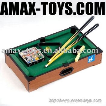 stg-201a Children's Wooden Snooker sport game table.
