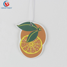 Cheap factory custom natural california scents air freshener paper board
