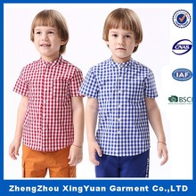 2016 New Style Kids Boys Spring/Autumn Fashion Shirts from China Factory