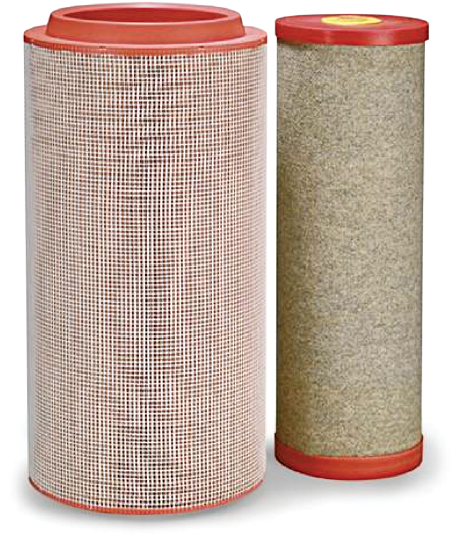 Replacement suction compressor air filter