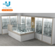 Shop Mall Decoration Display Cabinet and Showcase For Jewelry Shop Design