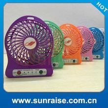 Strong wind large battery powered fan