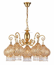 Modern crystal chandelier project hanging lamp for hotel lobby