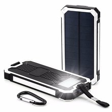 Wholesale Price Mobile Phone Portable Power Bank 15000mah Solar charger for phone solar charger for iPhone Samsung Charger