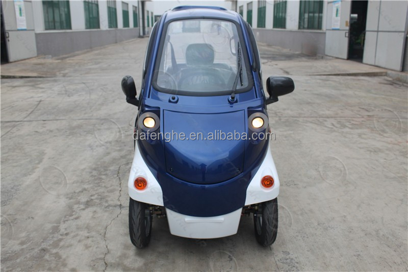 electric rechargeable car mini electric automobile pure battery car