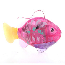 Robofish Activated Battery Powered Robo Fish Toy Childen Kids Robotic Gift