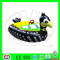 Discount!!! Kids play rides bumper boat inflatable