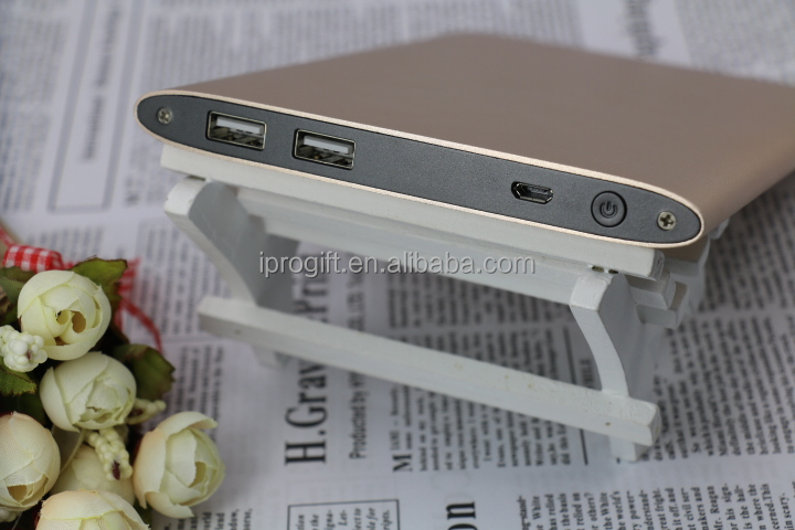 OEM full capacity portable power bank 20000mah for mobile phones