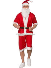 Mens Padrão de Papai Noel Para Adultos Fun Run <span class=keywords><strong>Pai</strong></span> <span class=keywords><strong>Natal</strong></span> Fancy Dress Costume Xmas BMG20092