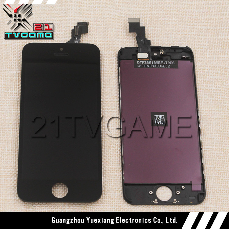 Phone 5C Lcd Screen Digitizer LCD Assembly Display with Frame,White and Black Color Available