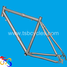 high performance titanium bike road frame TSB-JTC1201