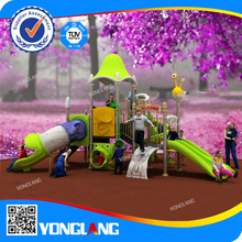 2014 kids playground plastic slides toys for daycare
