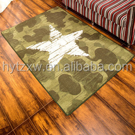 Wholesale private label advertising printed custom door rug