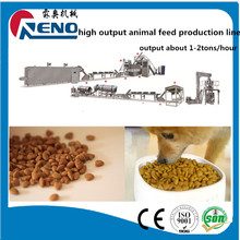 high capacity pet meat strip making machine