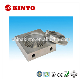 Multifunctional copper heat sink with high quality