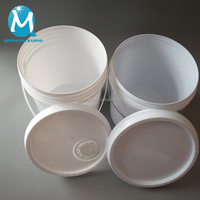 Customized china factory price round paint plastic bucket/pail/drum
