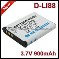740mAh 3.7V For Pentax D-Li88 Rechargeable Emergency Digital Camera Battery
