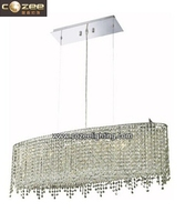 Modern Chandelier Pendant Light Islamic Crystal Hanging Lamp for Home Bedroom Decorating CZ9293LG