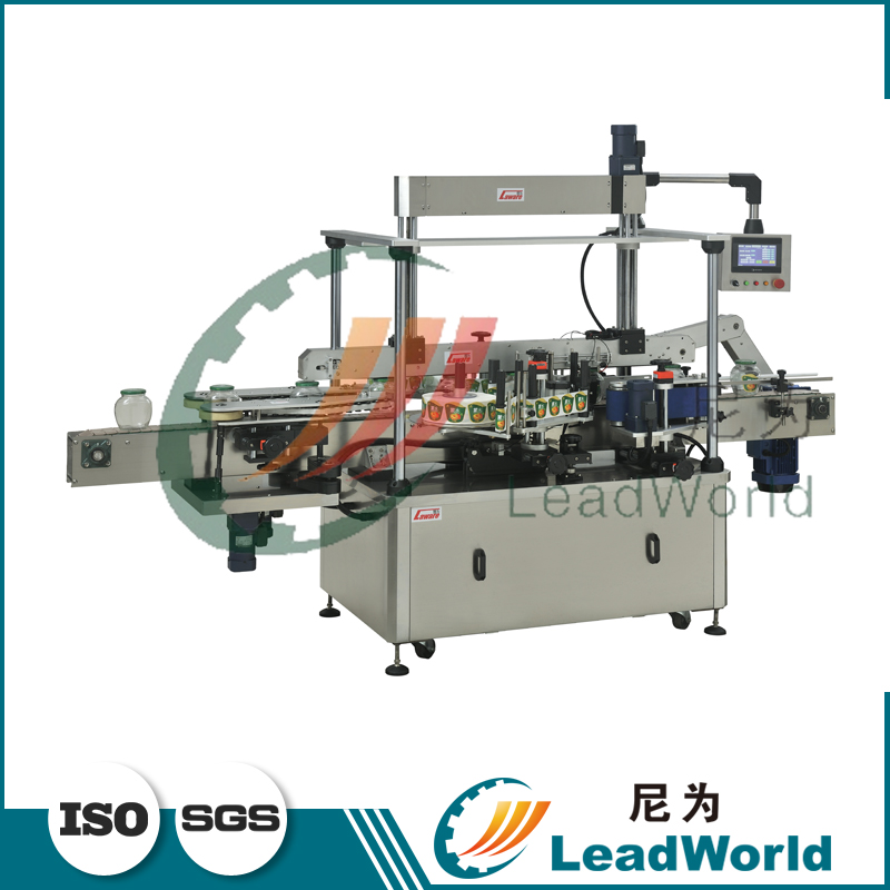 high quality full Automatic one/Two/three Sides round bottles/cans sticker labeling machine
