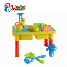 summer toy plastic beach sand and water play table for kids