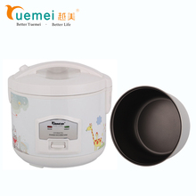 Wholesale kitchen appliances cute apperance small size fast cooking electric rice cooker with food steamer