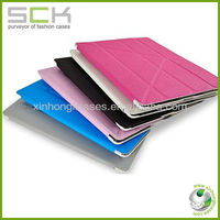 Luxury Style High Quality Tablet Leather Case For iPad 2/3 Leather Case Cover