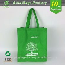Reusable full color printing pp nonwoven bag