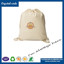 Superb Promotional Wholesale Cotton Fabric Drawstring Bag