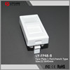 LY-FP48-B Free sample french Standard 22.5X45mm face plate rj45 faceplate