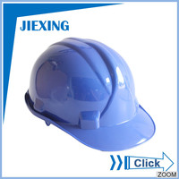 Cheap price HDPE shell industrial safety helmet european style safety helmet