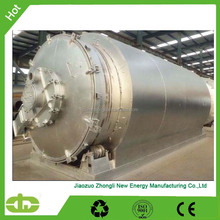 profitable and competitive waste rubber pyrolysis plant