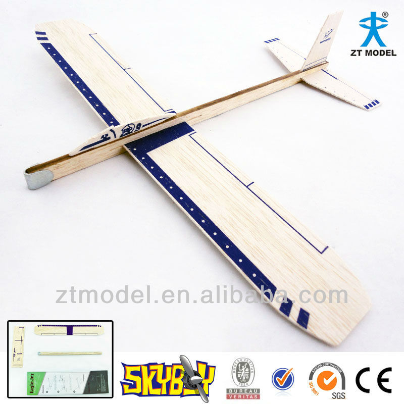 Sky boy Eagle Jet 12 Balsa Hand Launch Glider Flying Toy