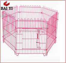 Temporary Metal Wire Mesh Fencing Dog Kennel Runs Fence