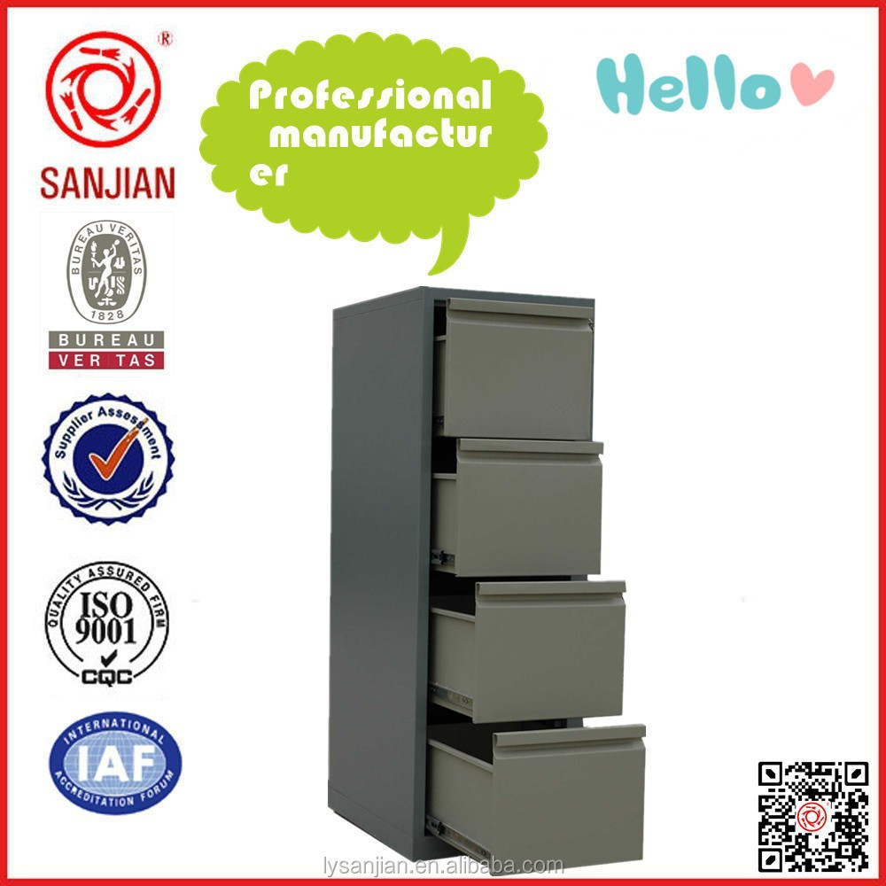 SJ-086 Commercial 4 drawer metal orocan cabinet