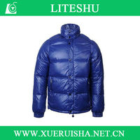 Latest Style Feather Down Winter Man Short Coat