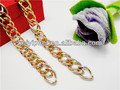 Double chain for bag handle metal bag chains