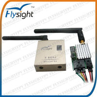 026 TX5802+RC306 Professional Wireless AV Transmitter and Receiver Audio Video AV TX/RX Kit for RC Boat