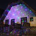 Outdoor Laser Christmas Light Projector , Red and Green Star Laser for Halloween, Christmas, Holiday