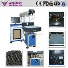fast speed wood glass image laser engraving machine