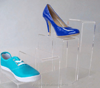Clear Acrylic Customized Shoe Display
