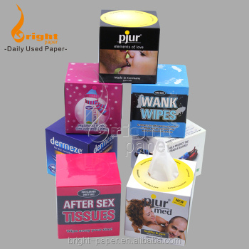 Highest Quality Cheap Custom Logo Printed Paper Towel Box Tissue
