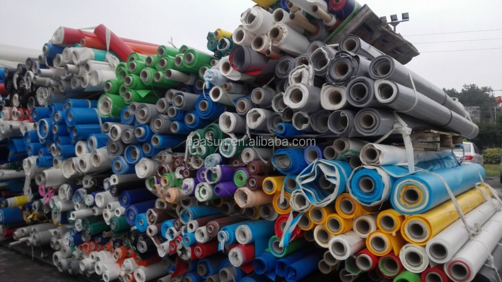 Pvc Coated Fabric Tarpaulin Stocklot, Pvc Tarpaulin for Tent and Truck Cover Stocklot