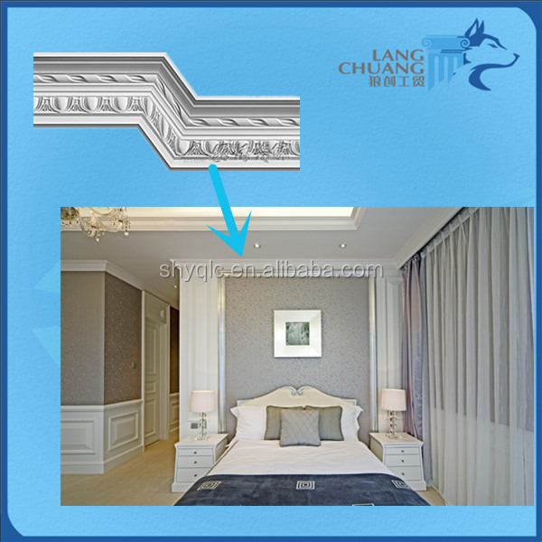 Refinement and Luxurious 3D Plaster Architectural Mouldings