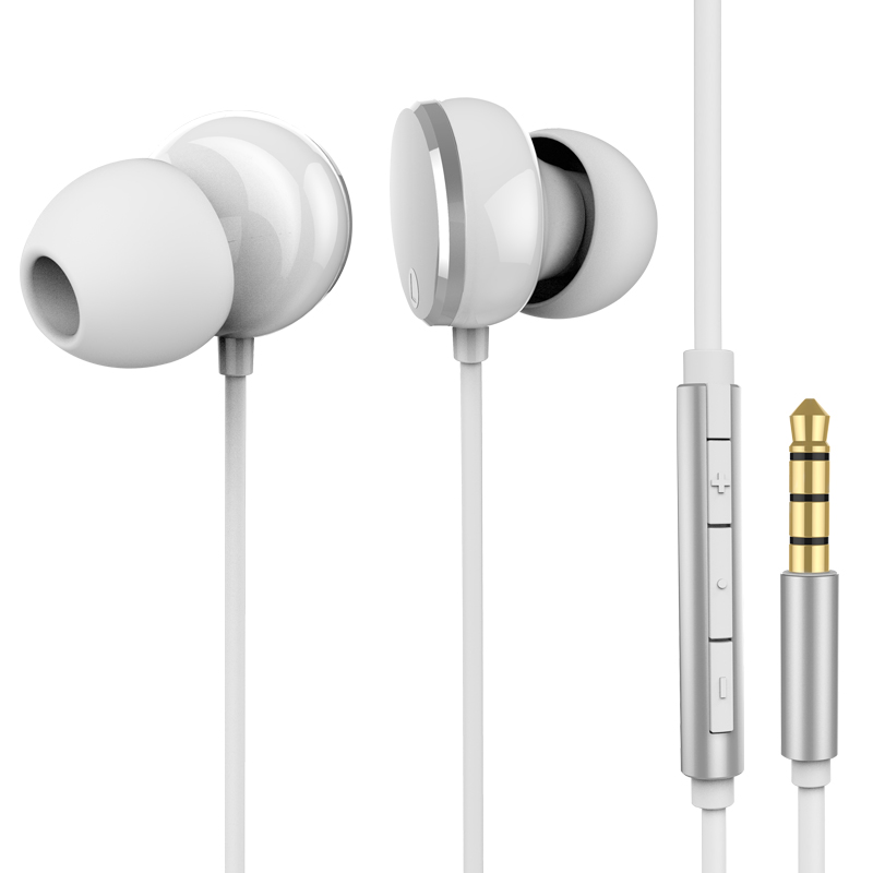 competetive earphone with volume control for iphone