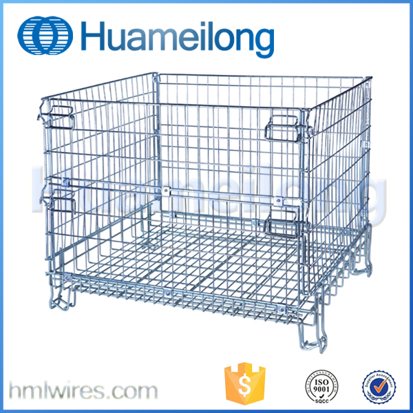 Hot Sale 1200x1000x1000mm Folding Recycle Industrial Wire Container