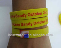 Funny 2013 new silicone wristbands | silicon rubber bracelets maker in shenzhen guangdong china